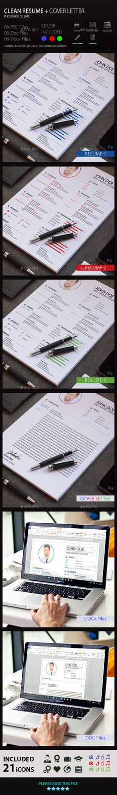 Resume Template PSD Download here    graphicrivernet item - psd resume templates