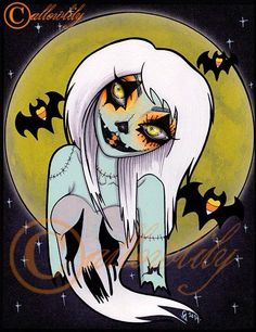 Creepy Girl Art and Design by CallowLily! - Dead Chicks Are Cool
