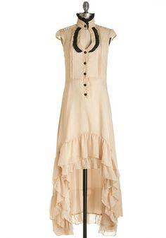 Steampunk Clothing, Costumes, and Fashion - A Novella Idea Steampunk Dress $99.99  #Steampunk #Halloween #costume