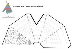 Gebruiken als tent uit de prehistorie? Native American Crafts, American Indians, Teepee Pattern, Tent Craft, Art For Kids, Crafts For Kids, Indian Crafts, Cowboys And Indians, School Themes