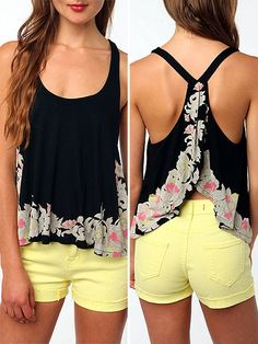 racerback - love the style of shirt