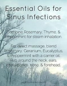 essential oil sinus infections by chula13