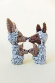 adorable handmade finger puppets for kids
