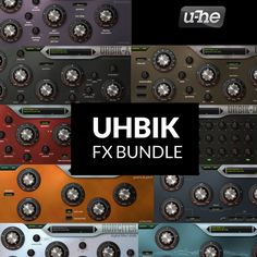 Uhbik is u-he's finest collection of effect plug-ins for the discerning audiophile. Audio