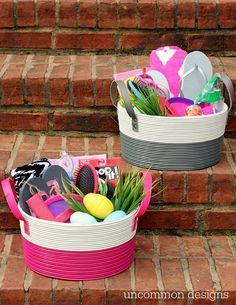 Easter basket ideas for your newborn girls first easter kosze tween easter basket ideas negle Image collections