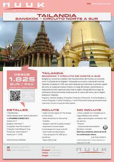Tailandia. Bangkok y Cto Norte a Sur Tai. Diciembre a Marzo 2014. 10d/7n. Precio final desde: 1.955€ ultimo minuto - http://zocotours.com/tailandia-bangkok-y-cto-norte-a-sur-tai-diciembre-a-marzo-2014-10d7n-precio-final-desde-1-955e-ultimo-minuto/