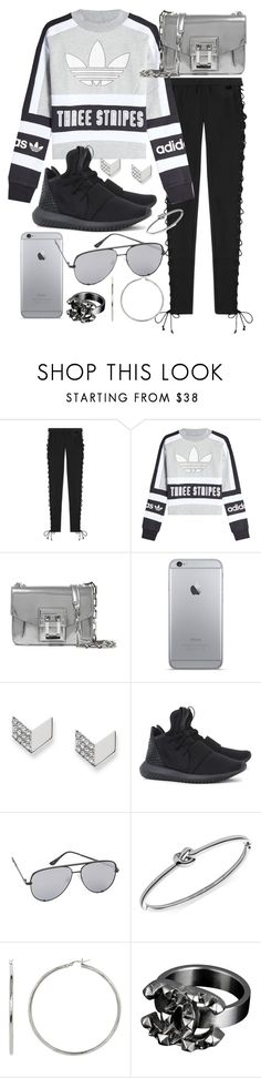 """Untitled #20763"" by florencia95 ❤ liked on Polyvore featuring Puma, adidas Originals, Proenza Schouler, FOSSIL, Quay, Michael Kors and Chanel"