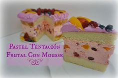 Pastel Tentación Frutal Con Mousse Exquisito