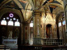 Интерьер церкви Орсанмикеле.