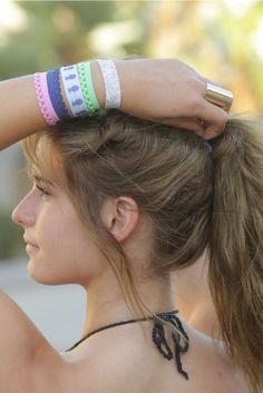 Part Hair Ties, Part Bracelets   Pura Vida Bracelets