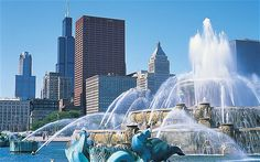 Chicago Movie, Chicago Map, Chicago Hotels, Chicago Restaurants, Buckingham Fountain, Grant Park, My Kind Of Town, Walkabout, Hotel Reviews