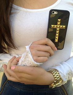 Camo Cross Wildflower case with cute Free People long sleeve thermal! So cozy :)