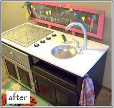 Play kitchen...so cute!