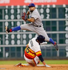 Rougned Odor, TEX/Jason Castro, HOU//Aug 6, 2016
