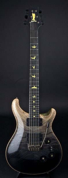 PRS Private Stock Custom 24 Signature WG 5th Anniversary PS#4141 with free car registration plate