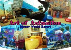 Art of Animation at Walt Disney World Resort has Family Suites that sleep up to 6.