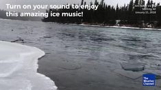 A River in Alaska Makes Some Beautiful Music
