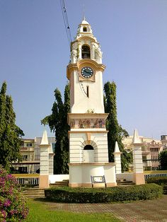 Birch Memorial Clock Tower was made of Ipoh marble was a gift to the public from the Chinese community of Perak and to honor J.W.W Birch, the first British Resident of Perak. . It is about 5 Minutes driving distance from The Osborne Apartments, Ipoh -- www.theosborne.com.my