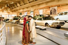Indian wedding at The Henry Ford by Michigan wedding photographer, Nicole Haley Photography