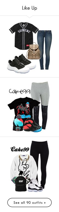Like Up by miyanextdoor on Polyvore featuring polyvore, fashion, style, Levi's, Coach, Leather, hat, foams, foamposite, Helmut Lang, Concord, Forever New, Bobbi Brown Cosmetics, ASAP, UGG Australia, MCM, uggs, Sweatshirt, Leggings, mcm, rag & bone/JEAN, Lauren Conrad, Lord & Berry, Versace, Michael Kors, Forever 21, art, H&M, Beats by Dr. Dre, Tarnish, Hello Kitty, Kelly & Katie, Mazine, Pieces, FOSSIL, TNA, ODD FUTURE, Lipstick Queen, Yves Saint Laurent, Givenchy, CÉLINE, J Brand, NIKE…