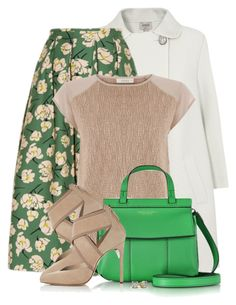 """""""Tory Burch Handbag"""" by colierollers ❤ liked on Polyvore featuring Armani Collezioni, Rochas, Tory Burch and Lanvin"""