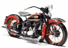 1936 HARLEY-DAVIDSON 80CI VLH 'BIG TWIN'