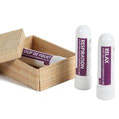 3 Sticks inhalation express - Profiter des vertus des huiles essentielles pour prendre soin de soi - 14,95 €
