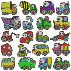 * WHEELS * Machine Embroidery * 20 designs x 2 sizes #Embroiderquilt #DesignCDs