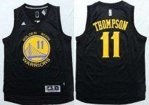 Golden State Warriors #11 Klay Thompson Revolution 30 Black