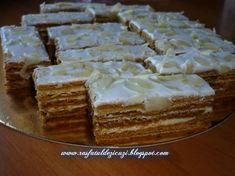 Albinita,Desert prajitura cu foi, miere si crema de lamaie din categoria Prajituri. Cum sa faci Desert prajitura cu foi, miere si crema de lamaie