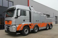 MAN TGS 41-540 with Falkom FAW 25000