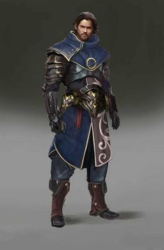 a collection of inspiration for settings, npcs, and pcs for my sci-fi and fantasy rpg games. Fantasy Character Design, Character Creation, Character Concept, Character Art, Concept Art, Fantasy Male, Fantasy Armor, Medieval Fantasy, Dnd Characters