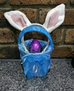 Home and hand made easter bucket