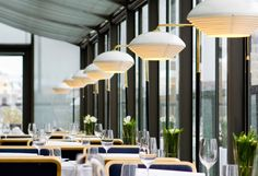 Restaurant Savoy, Helsinki, Finland, since 1937 / A811 Floor Light