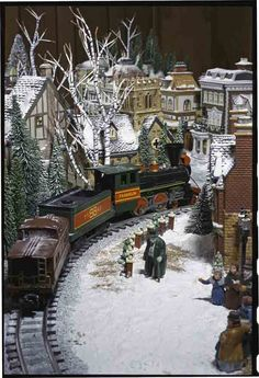 Bill and Diane Kavchak's S gauge layout - Toy Train Layouts - Classic Toy Trains - Trains.com online community