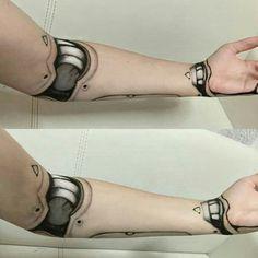 Cyborg Makeup by Yukinesan