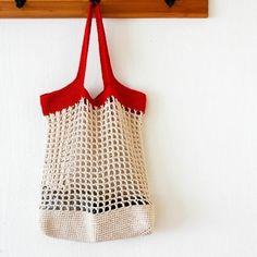 나 su Instagra Crochet Market Bag, Crochet Tote, Love Crochet, Knit Crochet, Crochet Stitches Patterns, Stitch Patterns, New Bag, Knitted Bags, Lana