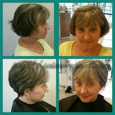 This beautiful guest hair transformation is just gorgeous! I gave her a more cropped cut that really opened up her beautiful face! Ready for your hair transformation? Call today to set up an appointment with me! 803-327-9242