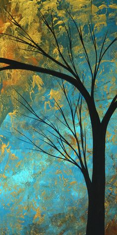 "Abstract Landscape ""Passing Beauty"" - Megan Duncanson"