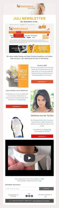 JULINEWSLETTER  Der Newsletter ist Da... Shops, Shopping, Switzerland, Amazing, Tents, Retail, Retail Stores