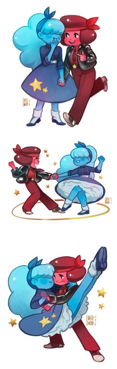 Ruby and Sapphire. Stop being so cute!