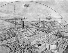 Frank Lloyd Wright / Broadacre City