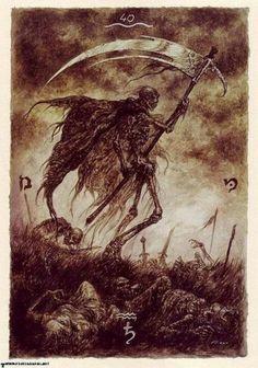 Luis Royo.. From his tarot card art.