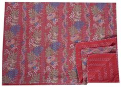 Kantha Throw-Pomegranate - Clever Girl