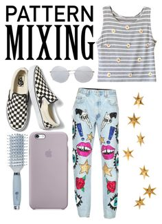 """""""A daily dose of outfit of the day darling, don't you damage that doll."""" by saxnia ❤ liked on Polyvore featuring Vans, Di$count Universe, Linda Farrow, Goody and Livingly"""