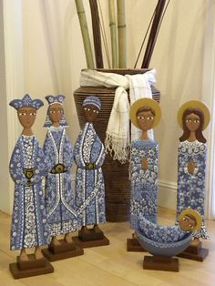 Nativity Set  - Made in Nicaragua - absolutely beautiful!