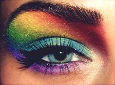 Beautiful Rainbow Eyeshadow!
