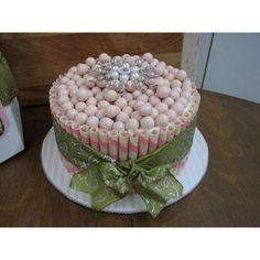 Maltball cake