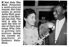 Nat King Cole Gets The Bird from Anita Wolf - Jet Magazine… | Flickr