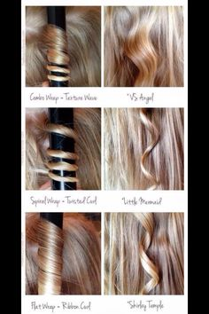 Different types of curls